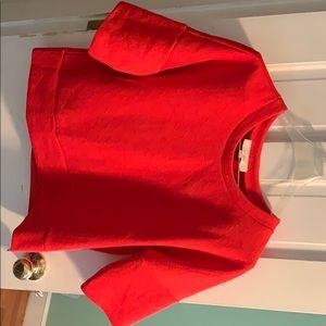 Red loft sweatshirt